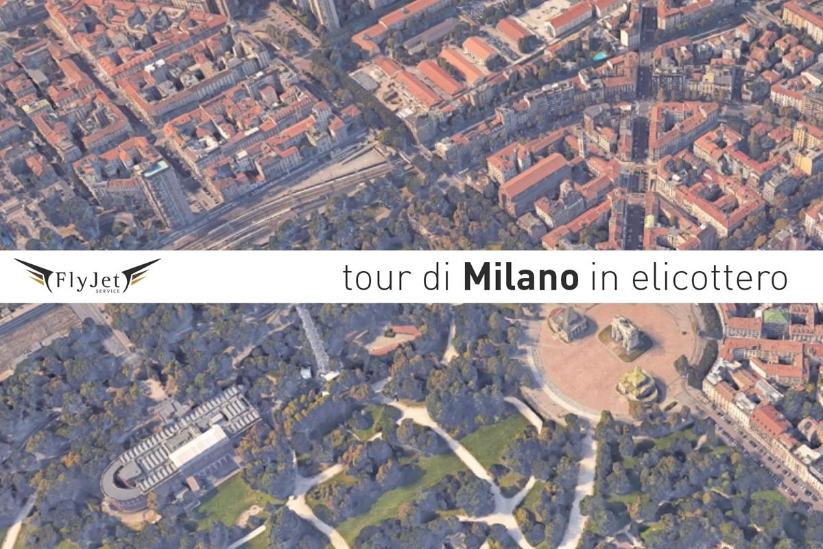 Elicottero Milano : Tour architettonico di milano in elicottero fly jet service