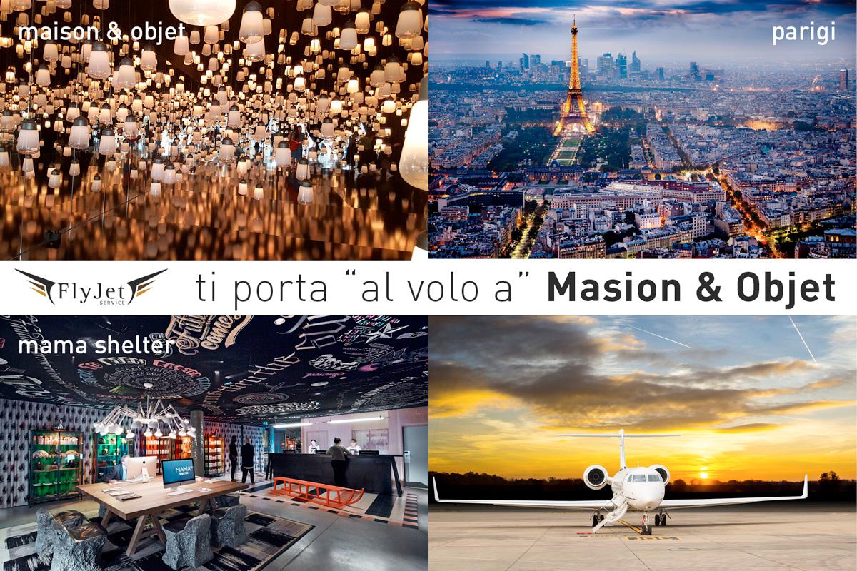 Jet Privato Milano Parigi : Jet privato in partenza maison objet fly service