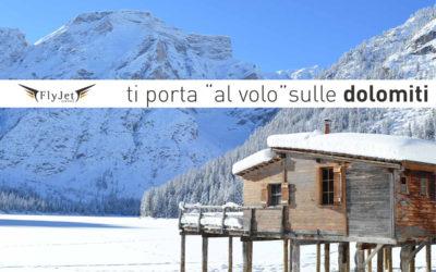 """Fly Jet Service ti porta """"al volo"""" sulle Dolomiti"""