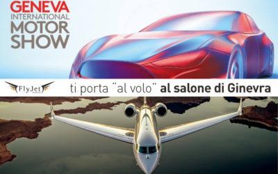 Motor Show di Ginevra in jet privato
