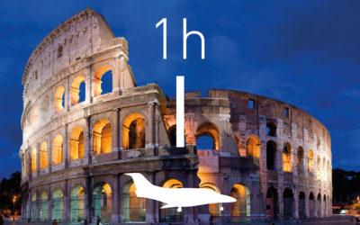 Vola a Roma con Fly Jet Service