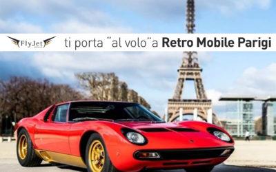 Fly Jet Service ti porta a Retro Mobile Parigi