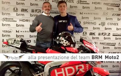 Fly Jet Service alla presentazione del team BRM Moto2