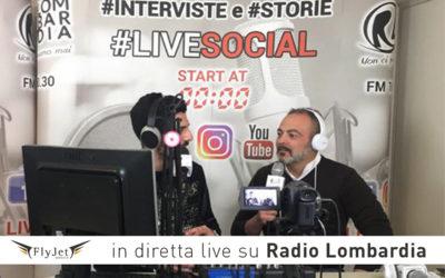 Fly Jet Service in diretta live su Radio Lombardia