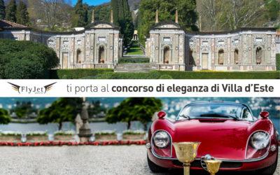 """Concorso di eleganza di Villa d'Este, Fly Jet Service ti porta """" al volo"""""""
