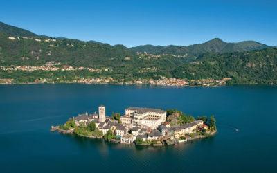 Tour Lago d'Orta in elicottero