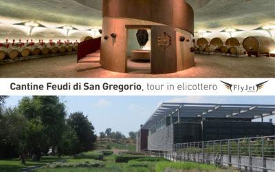 Tour in elicottero / Visita alle cantine Feudi di San Gregorio