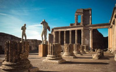 Tour in elicottero a Pompei