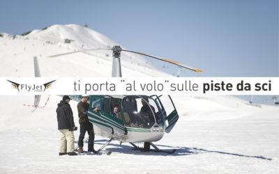 Raggiungi in elicottero le piste da sci con Fly Jet Service