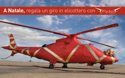 A Natale regala un giro in elicottero con Fly Jet Service