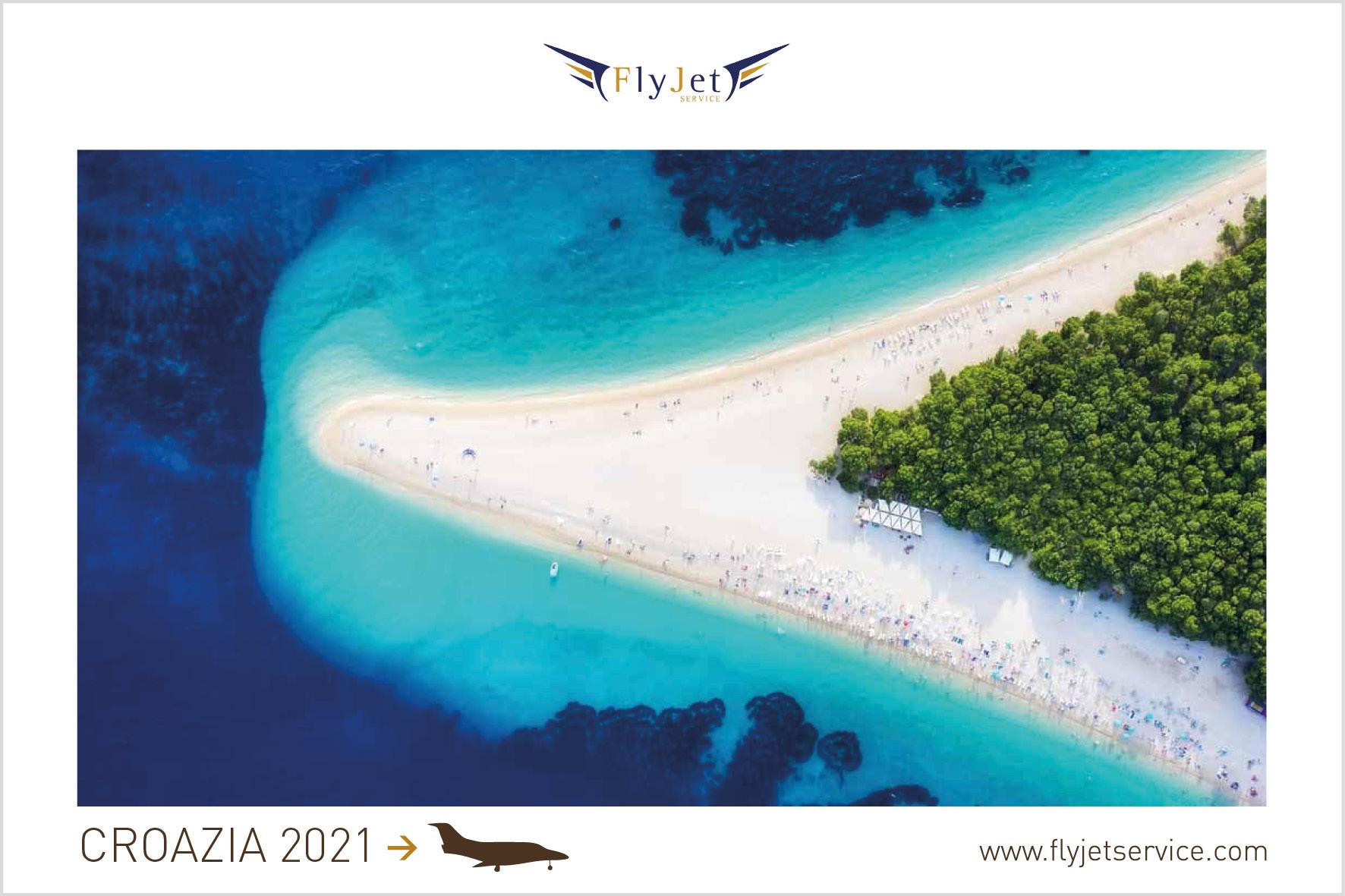 Le isole Croate si preparano al meglio per un'estate sicura e divertente, tu preparati prenotando in anticipo il volo in jet privato.