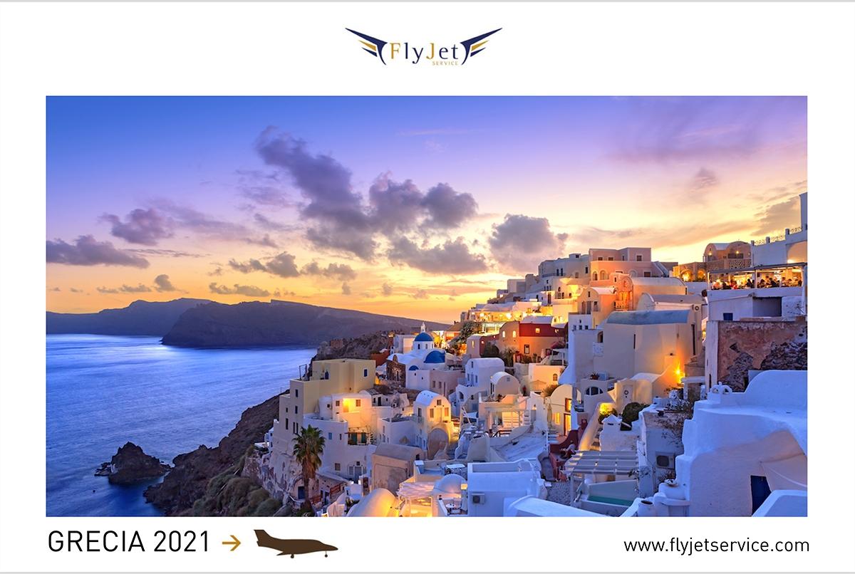 Le isole Greche si preparano al meglio per un'estate sicura e divertente, tu preparati prenotando in anticipo il volo in jet privato.