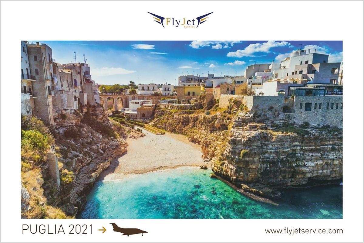 La Puglia si prepara al meglio per un'estate sicura e divertente, tu preparati prenotando in anticipo il volo in jet privato.